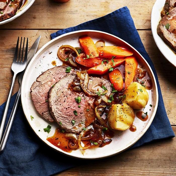 Sunday Roast món ăn đẳng cấp đến từ Vương Quốc Anh