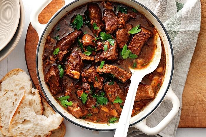 Món thịt hầm Carbonnade Flamande hấp dẫn