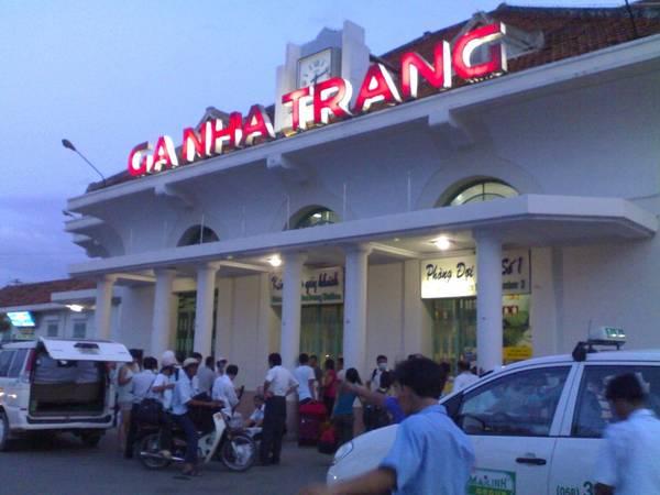 Ga Nha Trang.