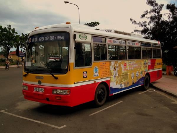 Xe Bus nội thành.