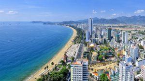 Bãi biển Nha Trang - Điểm du lịch hấp dẫn Nha Trang.