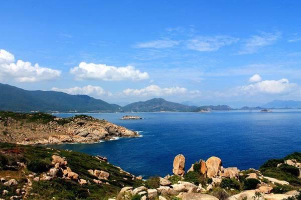 Đảo Bình Hưng nhìn từ trên cao