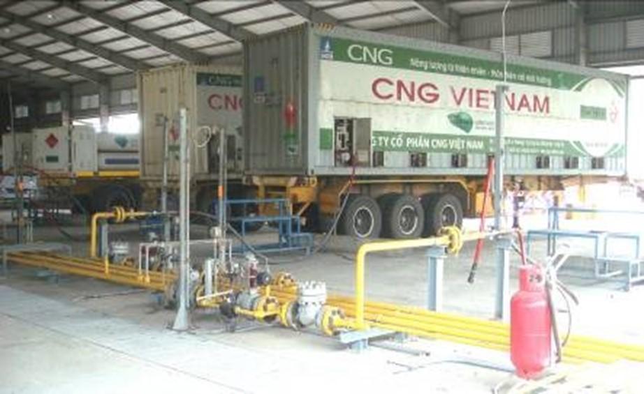 Trạm nạp CNG tại Mỹ Xuân